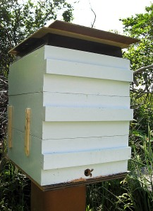 "My ""in a hurry"" hive."